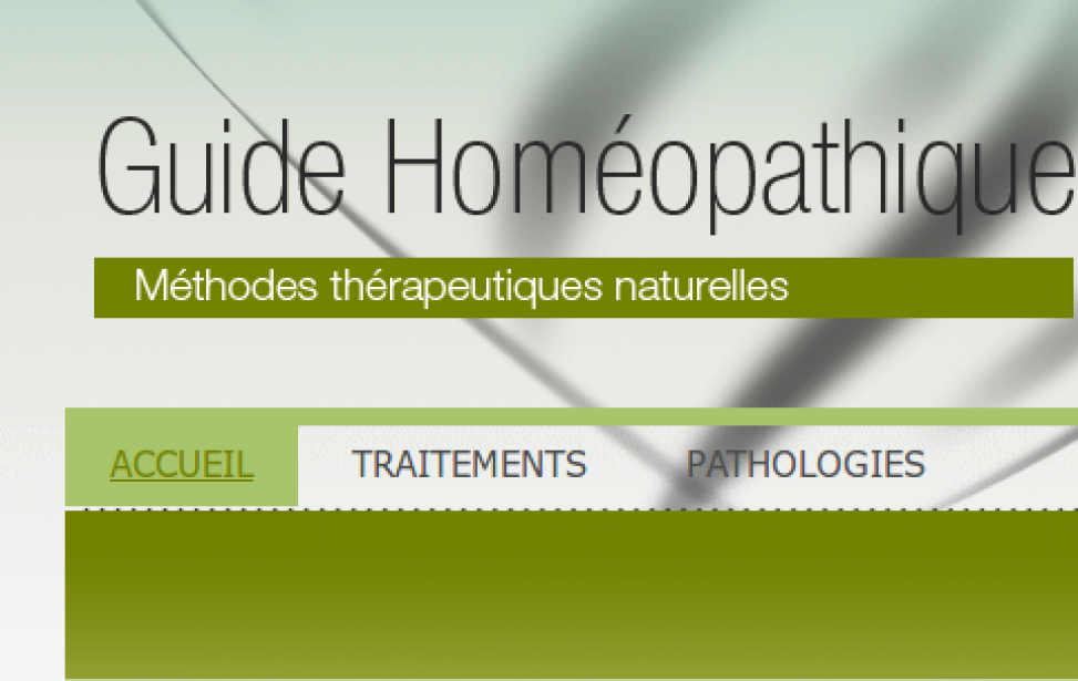 Guide homeopathique